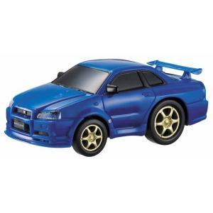 ドライブタウン スカイラインGT-R R34 ミニカー プルバックカー 自動車 おもちゃ|dream-realize