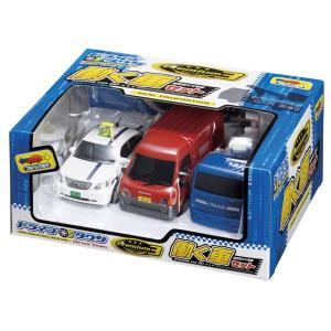 ドライブタウン 街の働く車 3台セット プルバックカー ミニカー 自動車 おもちゃ|dream-realize