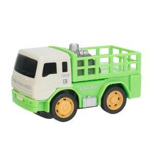 ドライブタウン 牧場トラック ミニカー プルバックカー 自動車 おもちゃ|dream-realize