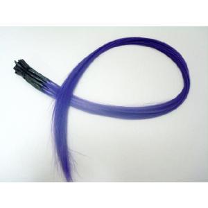 チップ式メッシュカラーエクステ ポイントメッシュ パープル 20本セット 紫 ウィッグ・エクステンション・つけ毛・コスプレ|dream-realize