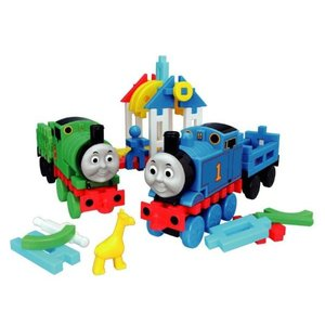 トーマス おもちゃ 玩具 学研 ニューブロック トーマスとパーシー  ケース入り ブロックセット 機関車トーマス 2歳 3歳 知育玩具|dream-realize