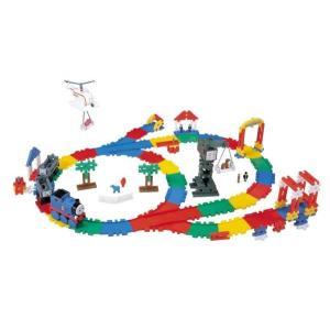 トーマス おもちゃ 玩具 学研 ニューブロック 走るトーマスセット  電動 ブロックセット 機関車トーマス 2歳 3歳 知育玩具 dream-realize 02