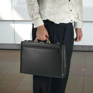 ダレスバッグ メンズ 豊岡鞄 おしゃれ 30代 40代 50代 ビジネスバッグ ドクターズバッグ A4F 42cm 日本製 MEN'S CLUB 22088|dream-realize