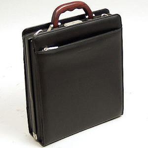 ダレスバッグ メンズ 豊岡鞄 おしゃれ 30代 40代 50代 ビジネスバッグ 天然木取っ手 縦型 A4F 36cm 日本製 MEN'S CLUB 22095|dream-realize