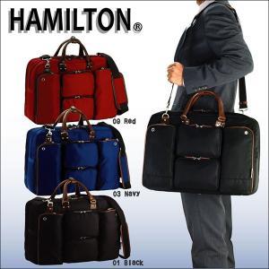 ビジネスバッグ メンズ 50代 40代 30代 20代 おしゃれ キャリーバー通し 出張 パソコン タブレット HAMILTON 26477 dream-realize