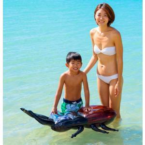 フロート 浮き輪 昆虫フロート オオクワガタフロート浮輪 うきわ ウキワ 105X66cm|dream-realize