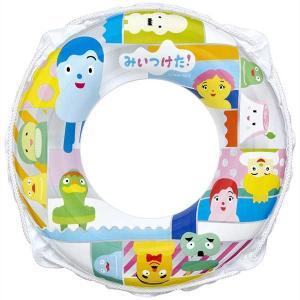 みいつけた! 白 集合 50cm 浮輪 浮き輪 うきわ ウキワ キャラクター ロープ付き プールや海水浴に 男の子 女の子 子供用 子ども用 こども用 対象年齢3〜5歳 dream-realize