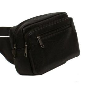 ウエストポーチ メンズ おしゃれ 50代 40代 30代 ウエストバッグ 紳士用 男性用 黒 かばん カバン 鞄 164|dream-realize