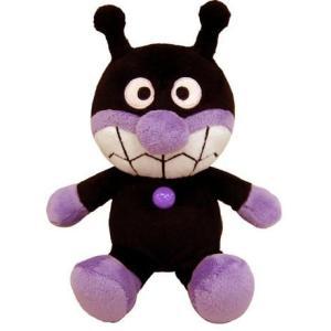 アンパンマン おもちゃ 玩具 ふわりんスマイルぬいぐるみ S plus バイキンマン ばいきんまん 1歳半 2歳 3歳 知育玩具|dream-realize