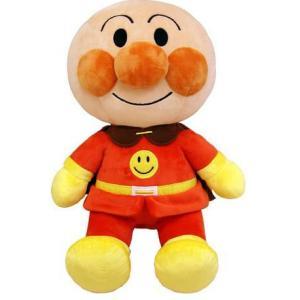 アンパンマン おもちゃ 玩具 ふわりんスマイルぬいぐるみ M アンパンマン 1歳半 2歳 3歳 知育玩具|dream-realize