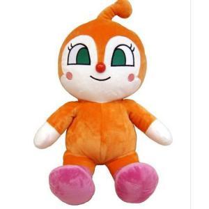 アンパンマン おもちゃ 玩具 ふわりんスマイルぬいぐるみ M ドキンちゃん 1歳半 2歳 3歳 知育玩具|dream-realize