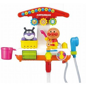 アンパンマン お風呂 おもちゃ 玩具 遊びいっぱい おふろでアンパンマン 3歳 4歳 知育玩具