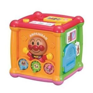アンパンマン よくばりキューブ  5つの面に13種類の遊びがつまったキューブです。 天面:?スマホ遊...