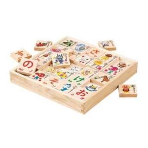 アンパンマン おもちゃ 1歳半 1歳6ヶ月 2歳 木製 木のもじあそび 文字遊び 純国産 知育玩具 dream-realize