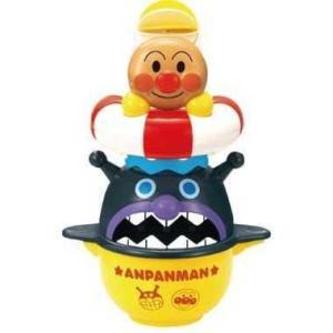 アンパンマン コップでジャージャー おふろであそぼう  プロペラがくるくる回転するアンパンマン浮き輪...