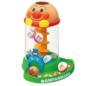 アンパンマン おもちゃ 男の子 女の子 1歳半 1歳6ヶ月 2歳 にぎって おとして くるコロタワー 知育玩具