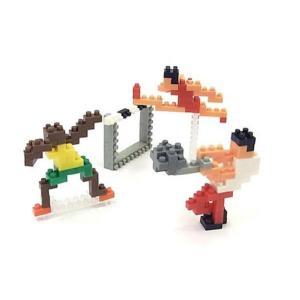 ナノブロック 大図まこと 陸上 (ハンマー投げ&ハードル&スプリンター)  【nanoblock/nanoブロック/マメログ/mamelog/ダイヤブロック】 おもちゃ・知育玩具 dream-realize