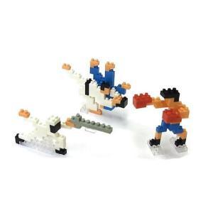 ナノブロック 大図まこと 格闘技 (柔道&ボクシング&フェンシング)  【nanoblock/nanoブロック/マメログ/mamelog/ダイヤブロック】 おもちゃ・知育玩具 dream-realize