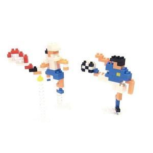 ナノブロック 大図まこと 球技 (サッカー&テニス)  【nanoblock/nanoブロック/マメログ/mamelog/ダイヤブロック】 おもちゃ・知育玩具 dream-realize