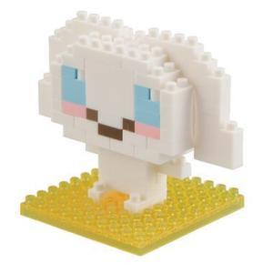 ナノブロック シナモロール nanoblock/nanoブロック/マメログ/mamelog/ダイヤブロック おもちゃ・知育玩具 dream-realize