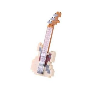 ナノブロック エレキギター アイボリー nanoblock おもちゃ 知育玩具|dream-realize