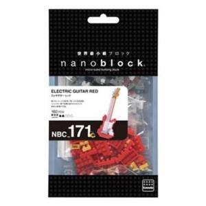 ナノブロック エレキギター レッド nanoblock おもちゃ 知育玩具|dream-realize