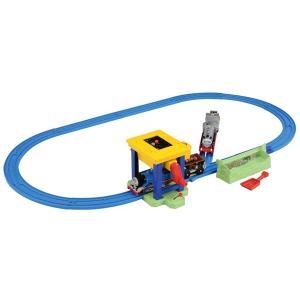 プラレール トーマス セット トーマス おもちゃ 男の子 3歳 4歳 ぐるぐるまわそう トーマスとマーリンの石炭ホッパーセット きかんしゃトーマス 知育玩具|dream-realize
