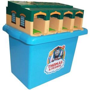 プラレール トーマス セット トーマス おもちゃ 男の子 3歳 4歳 たためるトーマス機関庫 きかんしゃトーマス 知育玩具|dream-realize