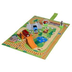トミカ トーマス おもちゃ 男の子 3歳 4歳 つながる立体マップ トーマスとバーティーのきょうそうセット きかんしゃトーマス 知育玩具|dream-realize