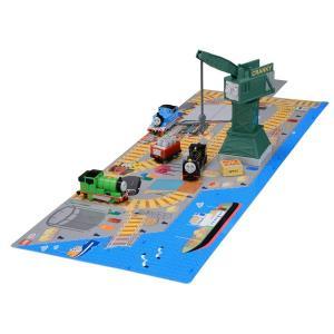 トミカ トーマス おもちゃ 男の子 3歳 4歳 つながる立体マップ ヒロとクランキーの積み下ろしセット きかんしゃトーマス 知育玩具|dream-realize
