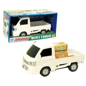 リアルに再現したボディは迫力満点! フリクション ハイゼットトラック はたらく自動車 おもちゃ/知育玩具|dream-realize