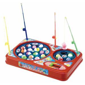 ぐるーんぐるーんさかなつりゲーム スピードチェンジレバーで難易度の調整が出来る 電池式の魚釣り おもちゃ・知育玩具|dream-realize