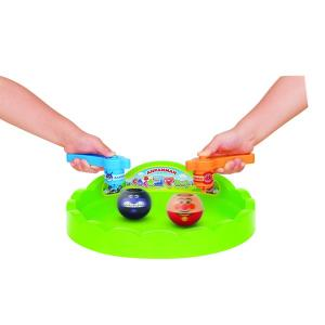 アンパンマン おもちゃ 玩具 くるくるコマセット こま回し コマ回し ばいきんまん 3歳 4歳 知育玩具|dream-realize