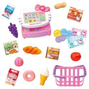 ハローキティ キティちゃん おもちゃ おしゃべりレジでおかいものセット おままごと 女の子 3歳 4歳 5歳 知育玩具|dream-realize