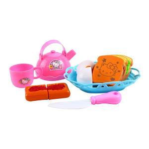 ハローキティ キティちゃん おもちゃ モーニングセット ままごと遊び 女の子 3歳 4歳 5歳 知育玩具|dream-realize