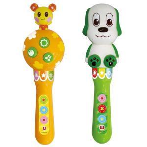 いないいないばあ 楽器 おもちゃ ワンワンとうーたんのマラカス 1歳半 1.5歳 2歳 知育玩具|dream-realize