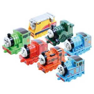 トーマス おもちゃ 男の子 3歳 4歳 ティドマス機関庫の7両セット 機関庫の仲間たち 手転がし きかんしゃトーマス dream-realize