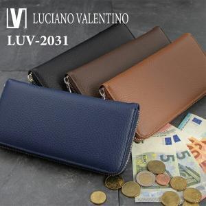 財布 メンズ 長財布 マットノボ ラウンドファスナー長財布 LUV-2031 財布 レディース 長財布 LUCIANO VALENTINO|dream-realize