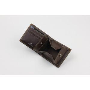 財布 メンズ 二つ折り LUCIANO VALENTINO 牛革 クロコ型押し ボックス小銭入れカードスライダー 二つ折り財布 LUV-4004 dream-realize 03