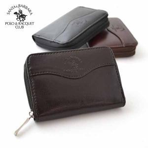 パスケース付き 財布 メンズ レディース SANTA BARBARA 牛床革 スタンダード 定期入れ付き小銭入れ SB9071|dream-realize