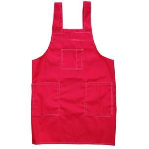 子供 エプロン H型子供用エプロン 赤 黒 紺の全3色 日本製 130cm 150cm 男の子用 女の子用|dream-realize