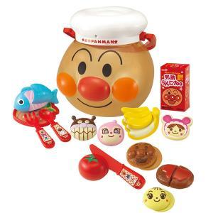 アンパンマン おもちゃ 玩具 アンパンマンにい〜っぱい!ままごとトントンセット おままごと ごっこ遊び おもちゃのお顔ケース付き 知育玩具|dream-realize