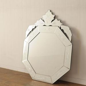 ◆デコラティブミラー 壁掛け鏡 ウォールミラー◆KZ8/M104【送料無料】