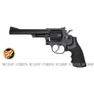 エアガン リボルバー S&W M19 357マグナム 6インチ HOPUP (No.6)|dream-up