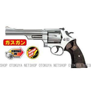 ガスガン リボルバー S&W M629 44マグナム 6インチ ステンレスタイプ HOPUP (No.5)|dream-up