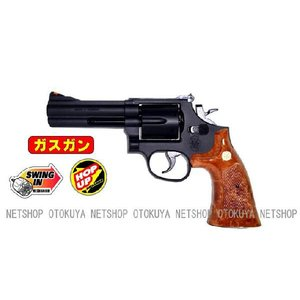 ガスガン リボルバー S&W M586 357マグナム 4インチ HOPUP (No.7)|dream-up
