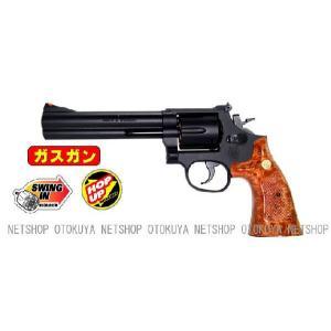 ガスガン リボルバー S&W M586 357マグナム 6インチ HOPUP (No.8)|dream-up