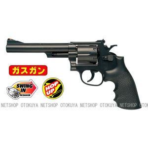ガスガン リボルバー S&W M19 357コンバットマグナム 6インチ HOPUP (No.11)|dream-up