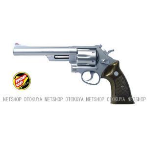 エアガン リボルバー S&W M629 44マグナム 6インチ ステンレスタイプ HOPUP (No8)|dream-up
