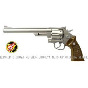 エアガン リボルバー S&W M629 44マグナム 8インチ ステンレスタイプ HOPUP (No20)|dream-up